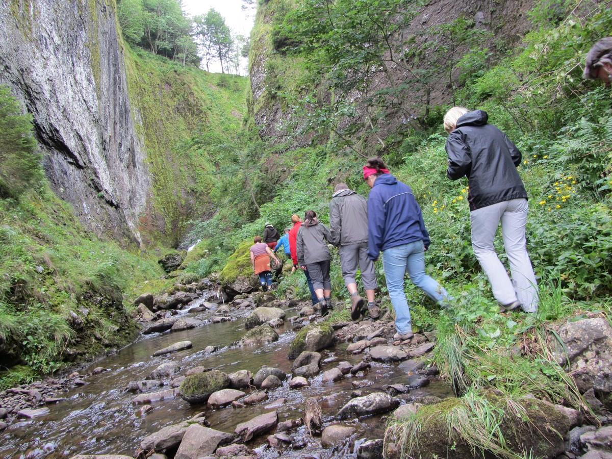 Petite randonnée du jeudi dans les gorges de l'Impradine