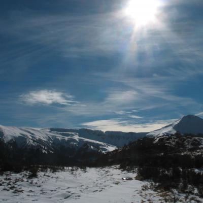 Cirque du Puy Mary en hiver
