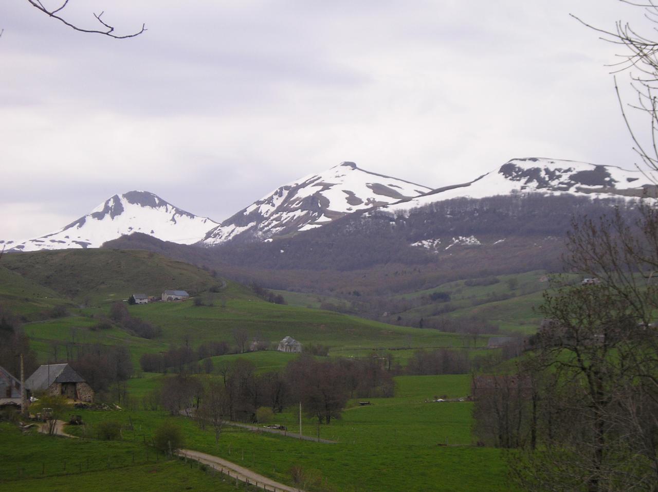 Puy Mary et Puy de la Tourte