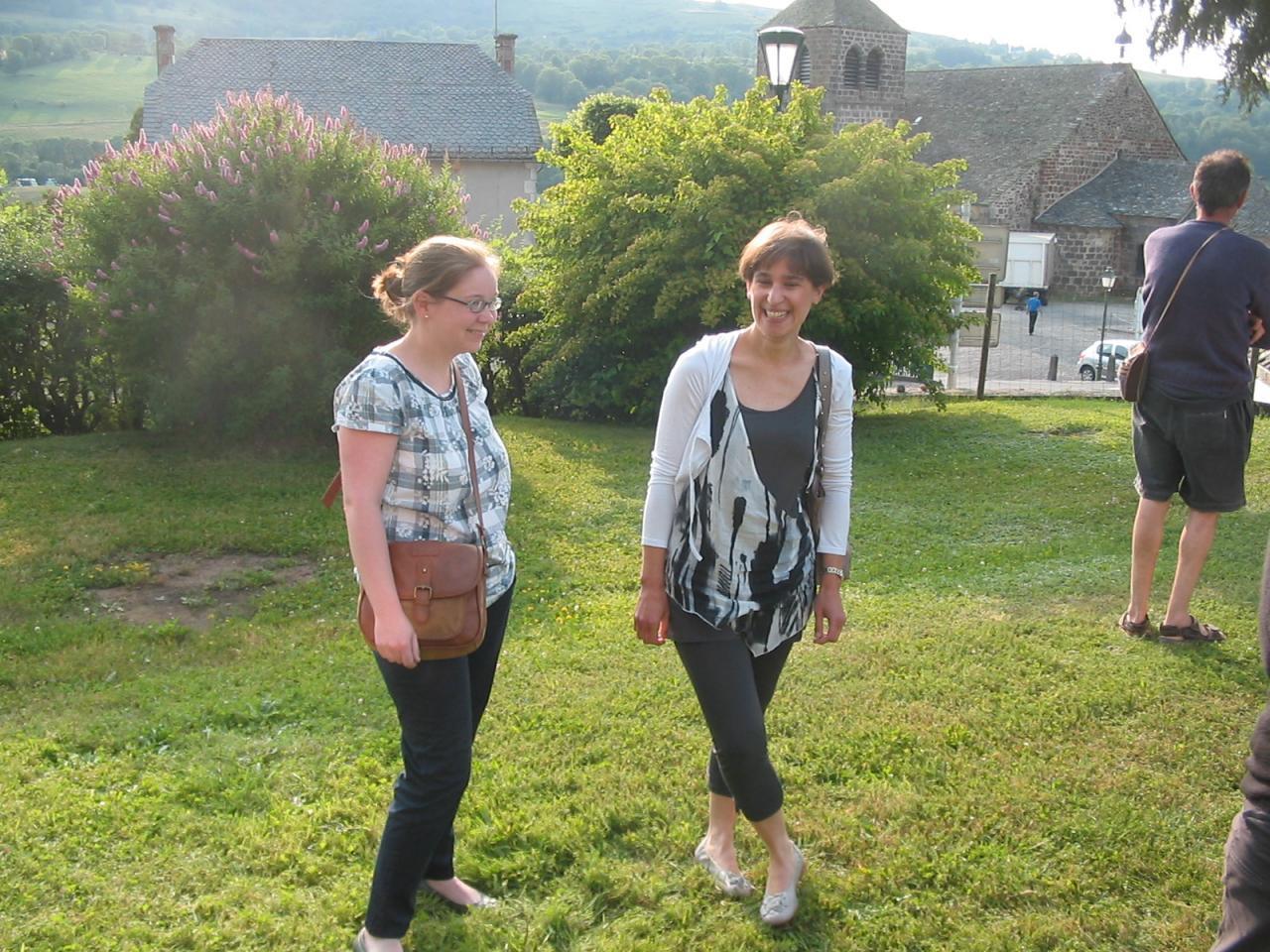 Pot d'accueil: Sandrine et Muriel font connaissance