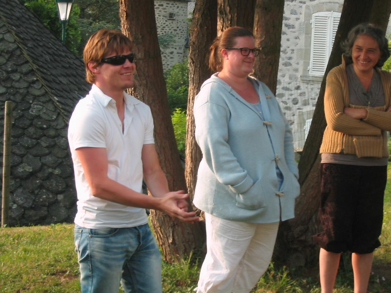 Gregor, Anne et Martine
