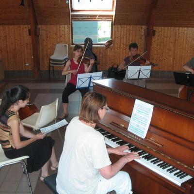 Marie- Jo au piano