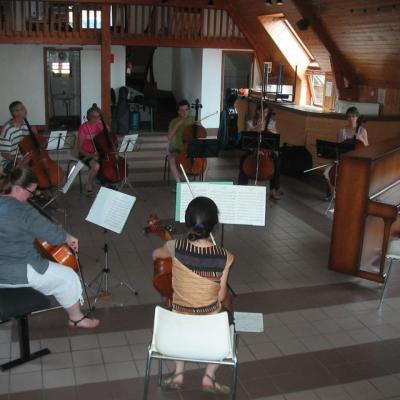 Répétition de l'Ave Maria, Fitzehagen