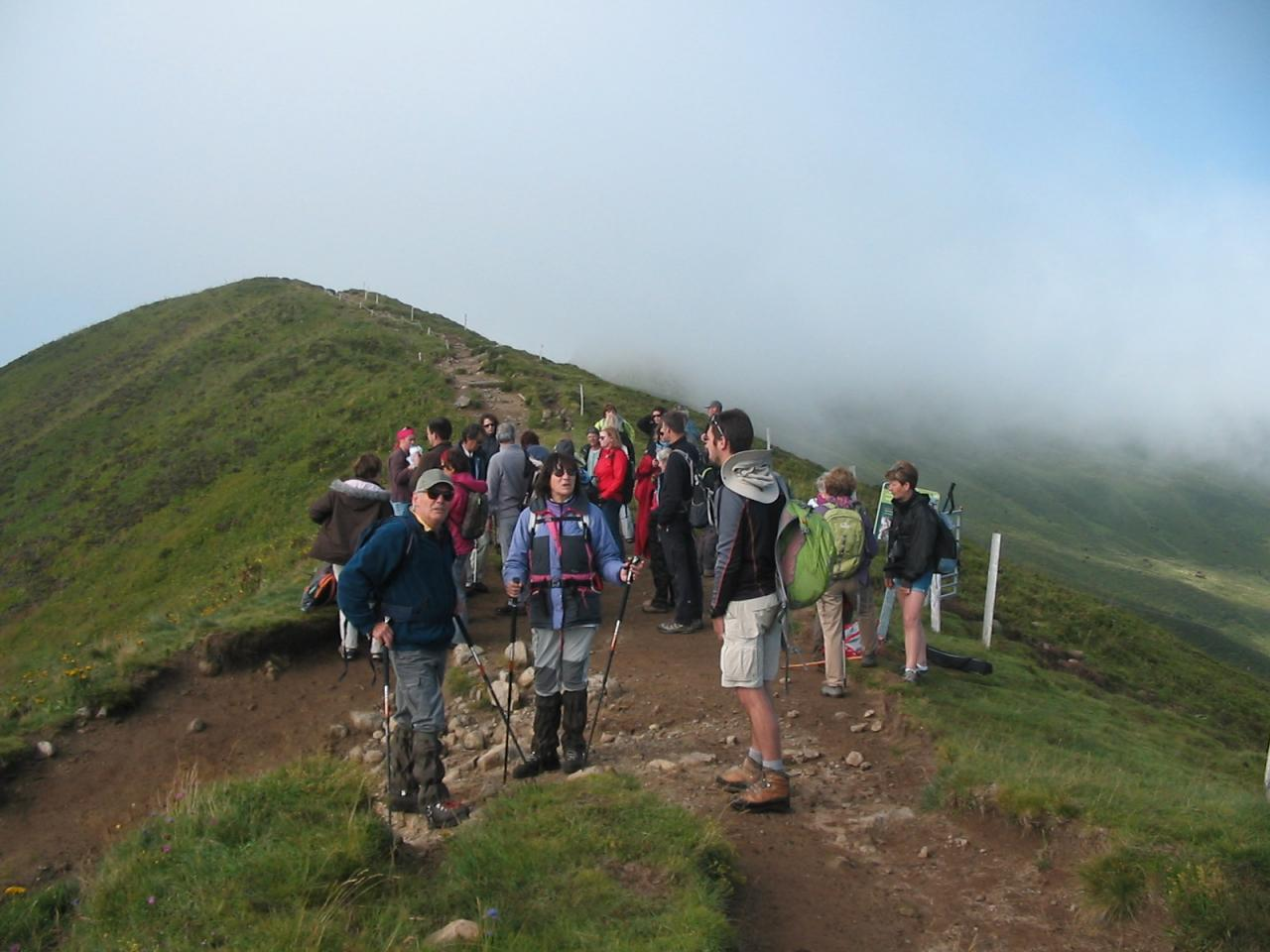 Grande randonnée du jeudi: vers Chavaroche