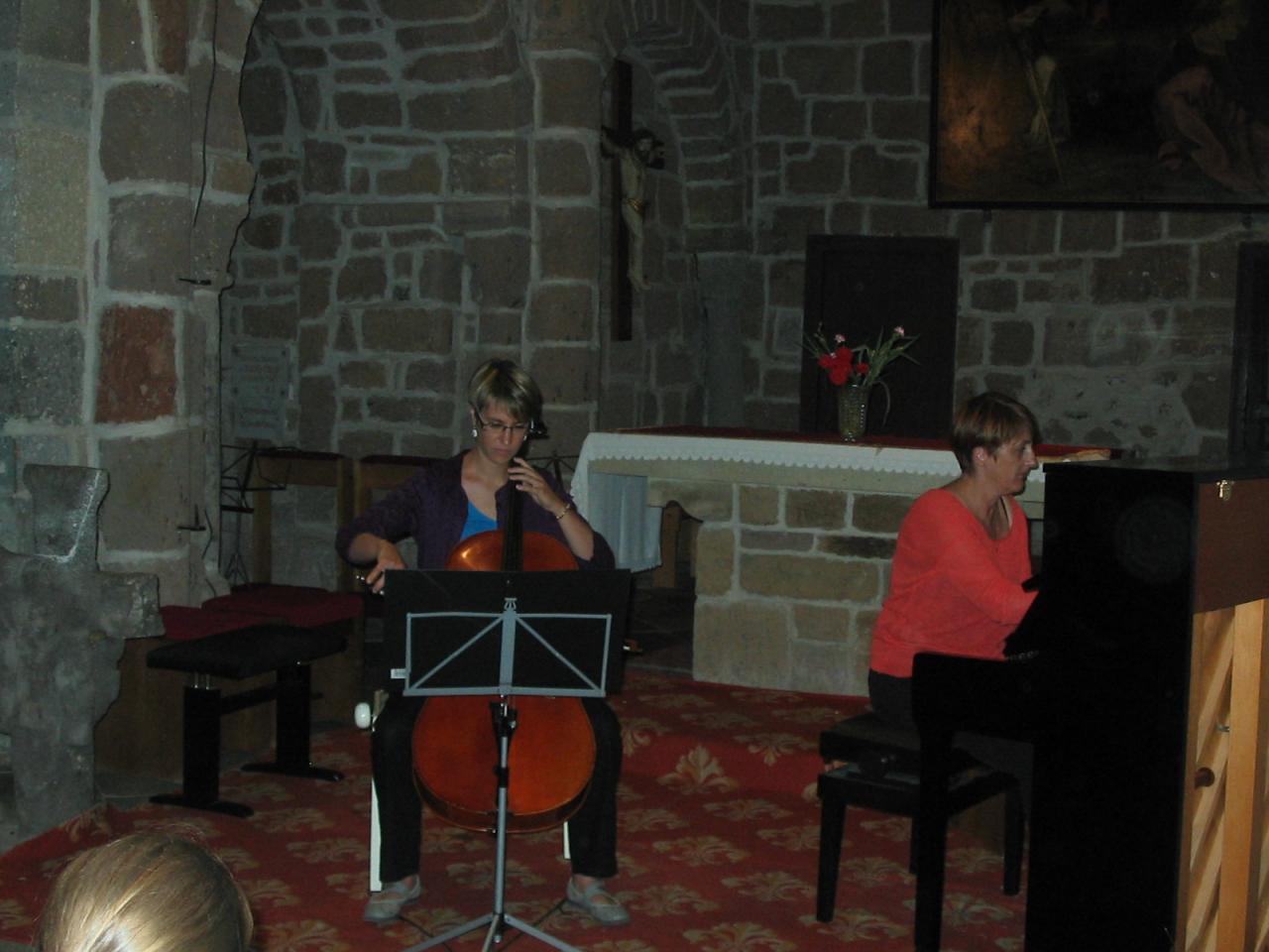 Marie-Laure et Marie-Dominique